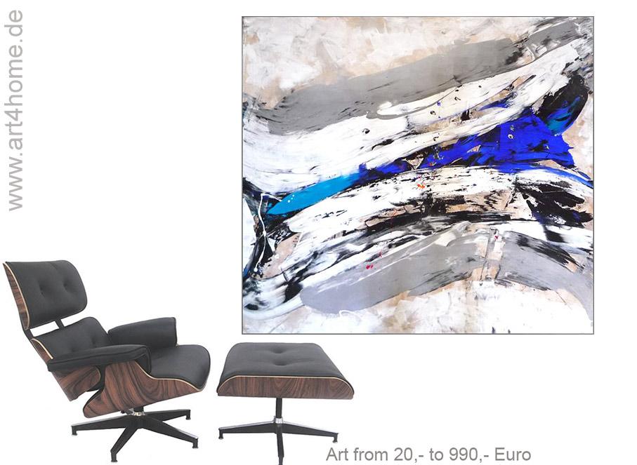 leinwandbilder fuer wohnzimmer - GROSSE BILDER! Großformatige Kunst - Wohnen und Einrichten mit Gemälden - moderne Wandbilder - XXL Leinwandbilder für Wohnzimmer