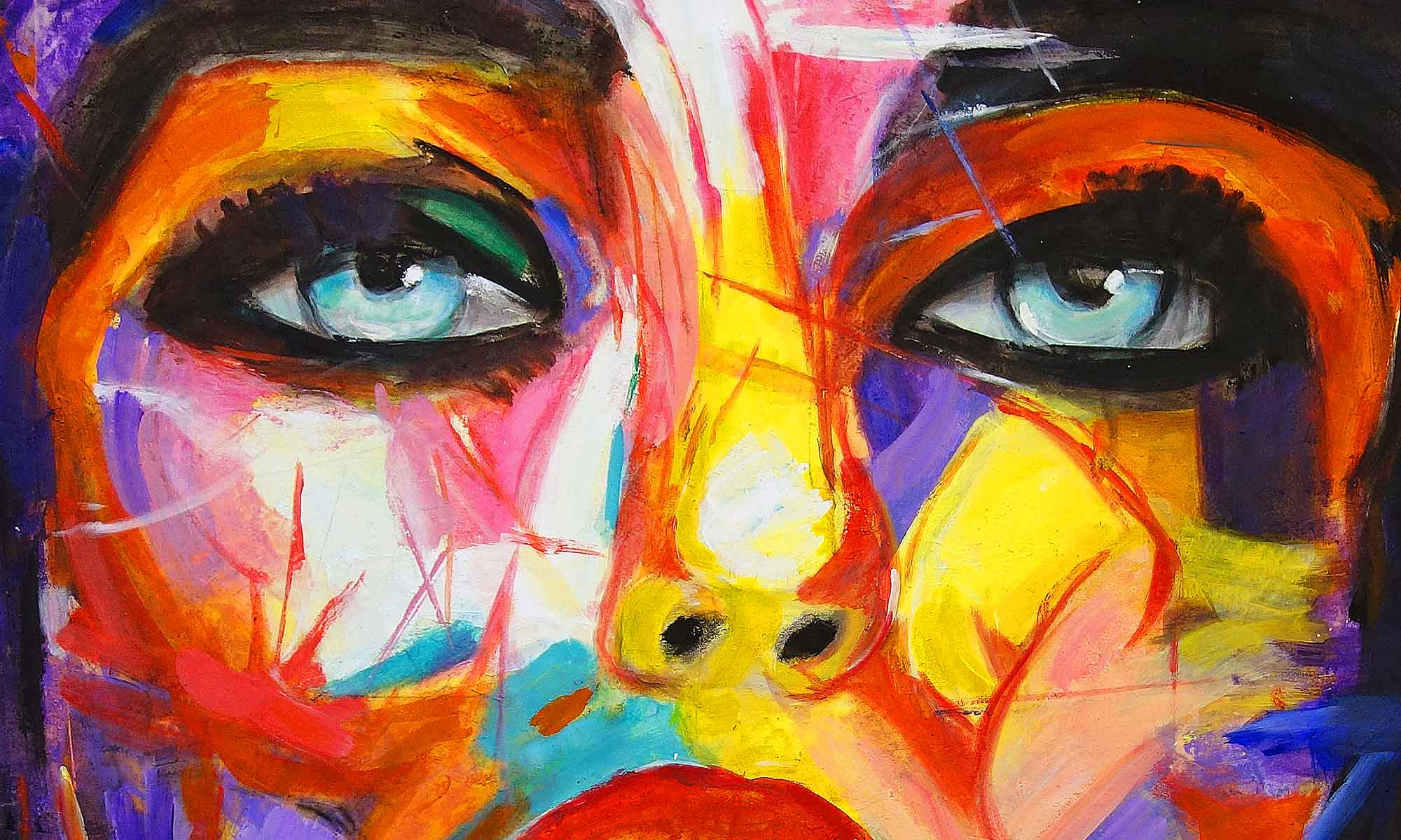 Wohnen mit Kunst, Bildern, echter Malerei