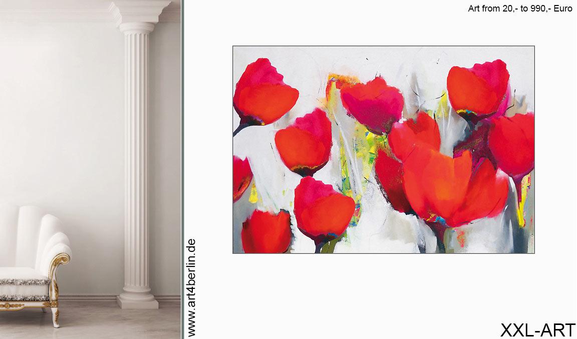 moderne wandbilder xxl preiswert - GROSSE BILDER! Großformatige Kunst - Wohnen und Einrichten mit Gemälden - moderne Wandbilder - XXL Leinwandbilder für Wohnzimmer